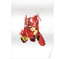 Flash Portrait Poster