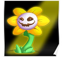 Flowey the Flower Poster