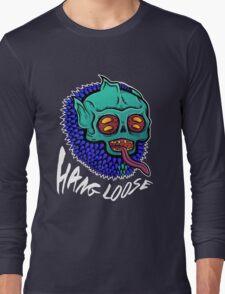 Hang Loose - Trippy Skater Monster T-Shirt/Sticker Long Sleeve T-Shirt