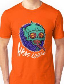Hang Loose - Trippy Skater Monster T-Shirt/Sticker Unisex T-Shirt