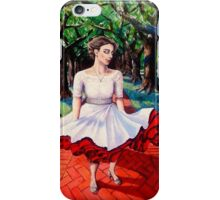 Bride on North Boulevard iPhone Case/Skin