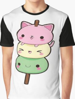 Cute Kawaii Kitty  Graphic T-Shirt