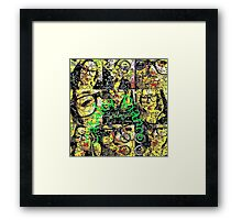 Catalea Puzzle Framed Print