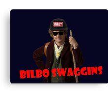 Bilbo-Swaggins Cap Canvas Print