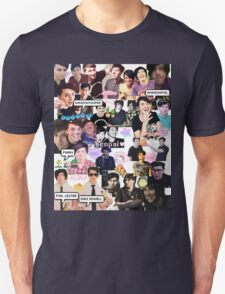 Dan and Phil Phan collage part 2 T-Shirt