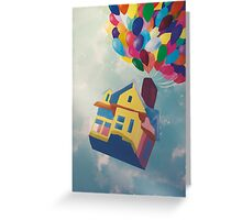 UP Greeting Card