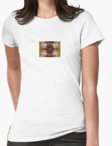Abstract Pattern #1 Womens Fitted T-Shirt