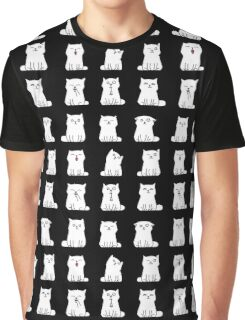 Nine cute white kittens Graphic T-Shirt