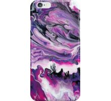Pink and Purple Swirled Marble iPhone Case/Skin