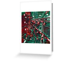 Abstract City Lines Greeting Card