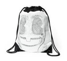 creeper clown need a hug Drawstring Bag