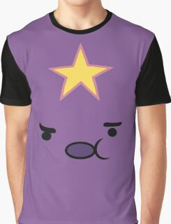 Adventure Time Lumpy Space Princess Face Graphic T-Shirt