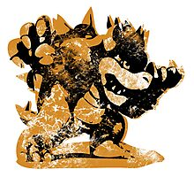 Bowser  -  Yellow Photographic Print