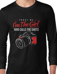 Photographer Girl Long Sleeve T-Shirt