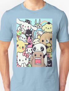 Cute Kawaii Japanese Characters T-Shirt
