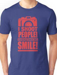 Photographer - I Shoot People Unisex T-Shirt