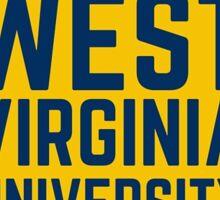 West Virginia University Sticker