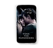 Fuck the Paperwork - Fifty Shades of Grey Samsung Galaxy Case/Skin