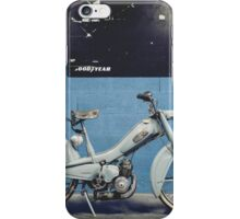 Mobylette Bleue iPhone Case/Skin