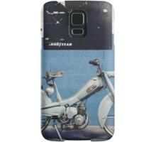 Mobylette Bleue Samsung Galaxy Case/Skin