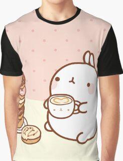 kawaii molang TEA Graphic T-Shirt