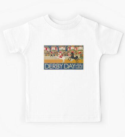 Vintage poster - Derby Day Kids Tee