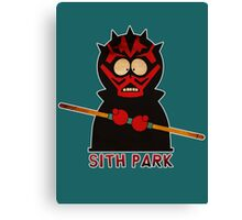 Darth Maul (Sith Park) Canvas Print