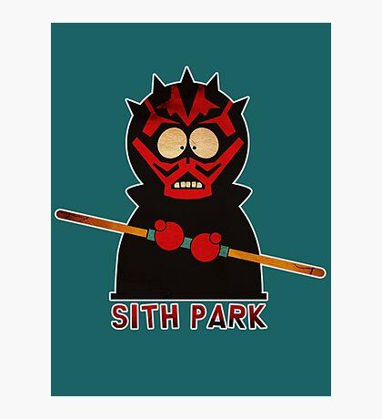 Darth Maul (Sith Park) Photographic Print