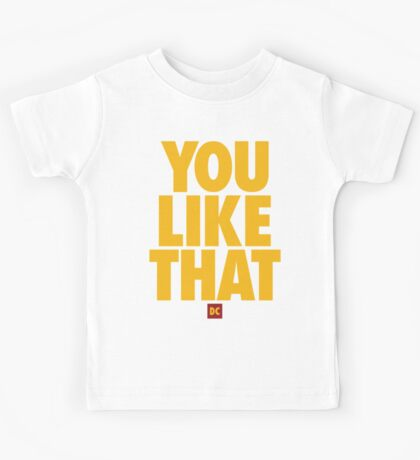 Redskins You Like That Cousins DC Football by AiReal Apparel Kids Tee