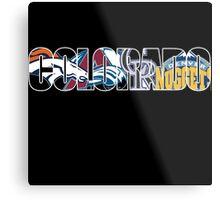 colorado sport teams Metal Print