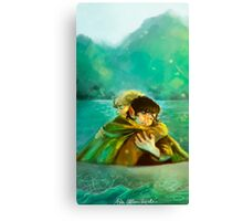 Frodo and Sam Canvas Print