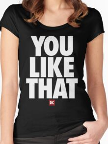 Redskins You Like That Cousins DC by AiReal Apparel Women's Fitted Scoop T-Shirt