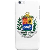 Coat of Arms of United States of Venezuela, 1864-1954 iPhone Case/Skin