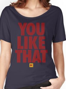 Redskins You Like That Cousins DC Football by AiReal Apparel Women's Relaxed Fit T-Shirt