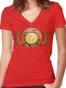 Cool Rare special item!  Women's Fitted V-Neck T-Shirt
