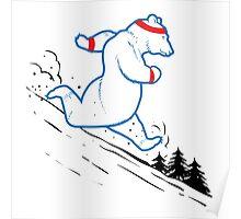 Da Bears - Running Poster