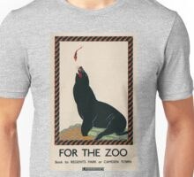 Vintage poster - London Zoo Unisex T-Shirt
