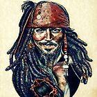 Cap'n Jack Sparrow by Indigo East by Indigo East