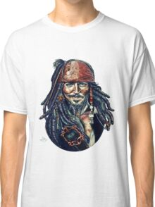 Cap'n Jack Sparrow by Indigo East Classic T-Shirt