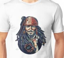 Cap'n Jack Sparrow by Indigo East Unisex T-Shirt