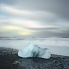 Black Sand Iceberg by Sheldon Pettit