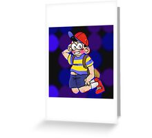 NESS!!! Greeting Card