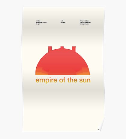 Empire at the Bowl  Poster