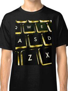 WASD Black and Gold Classic T-Shirt