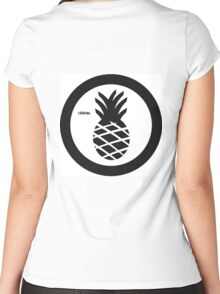 Pineapple BOMB Women's Fitted Scoop T-Shirt
