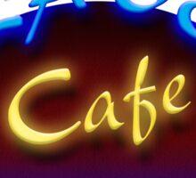 Calavera Cafe Sticker