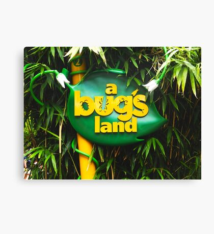 A BUGS LAND Canvas Print