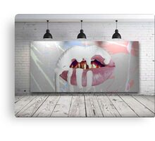 Kylie Jenner Lips Canvas Canvas Print