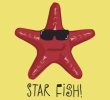 Star Fish Red Kids Clothes