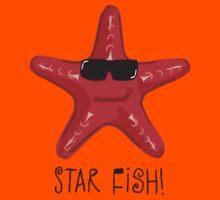 Star Fish Red Kids Tee